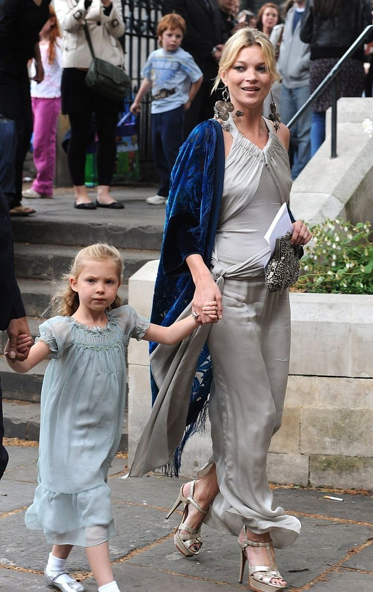 Kate Moss & Lila Grace (daughter)