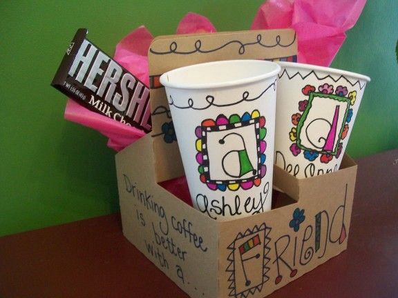 Sharpie Doodled Coffee Cups! I need to get my sharpie pens out and have a doodle party! Too cute ...