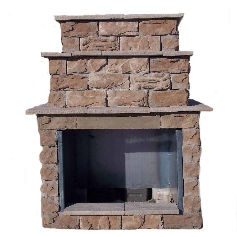 Pin By Michelle Radford On Patio Designs In 2020 Outdoor Remodel Outdoor Stone Fireplaces Outdoor Fireplace Kits