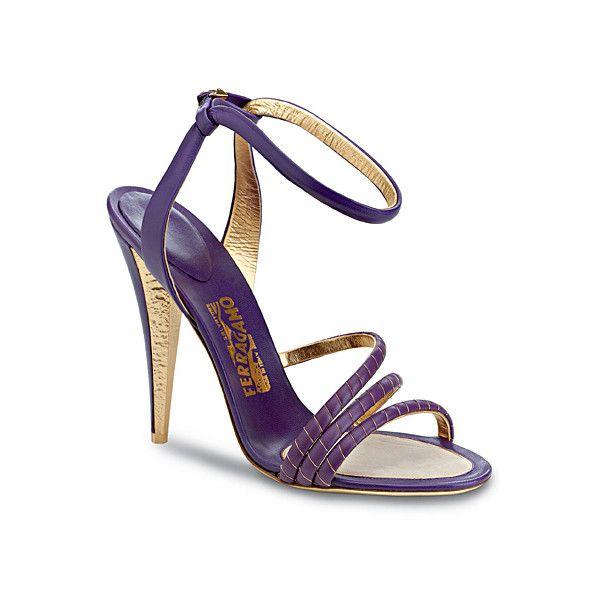 3b14aa925 OOOK - Salvatore Ferragamo - Women's Accessories 2012 Spring-Summer ❤ liked  on Polyvore featuring shoes, sandals, summer shoes, summer footwear, ...