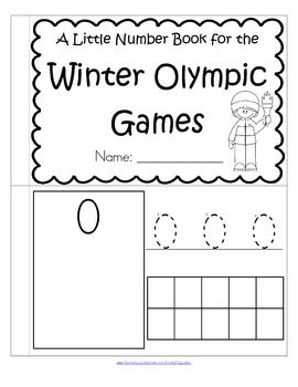 FREE Olympic-themed booklet to review and practice