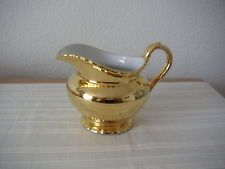 ROYAL WORCESTER   ****  GOLD  LUSTRE  ****  JUG   ****