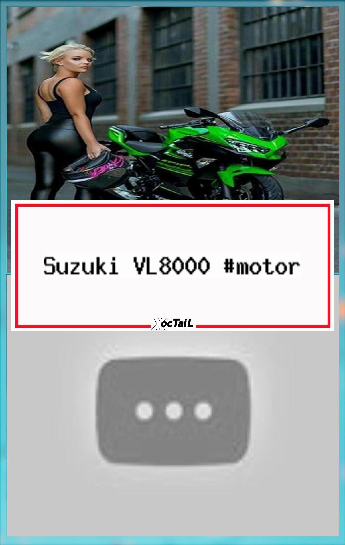 Suzuki VL8000 #motor #motorcycle #motorchick  Motorcycle  – motorcycle ride ridi…