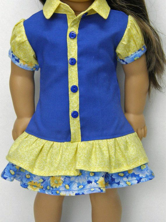 18 inch doll clothes Girl Doll clothes AG by Unendingtreasures