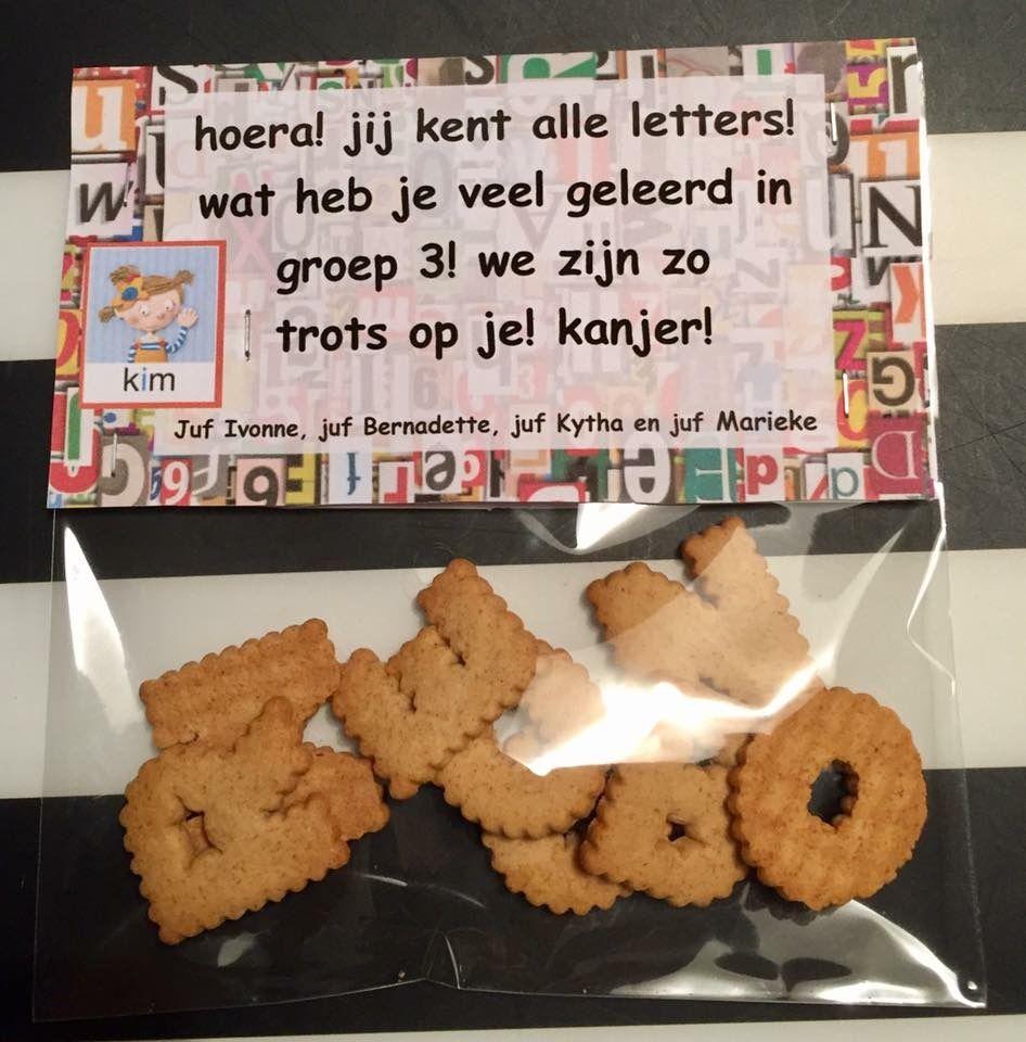 Ongebruikt Letterkoekjes om te trakteren tijdens het letterfeest (Ikea YL-61