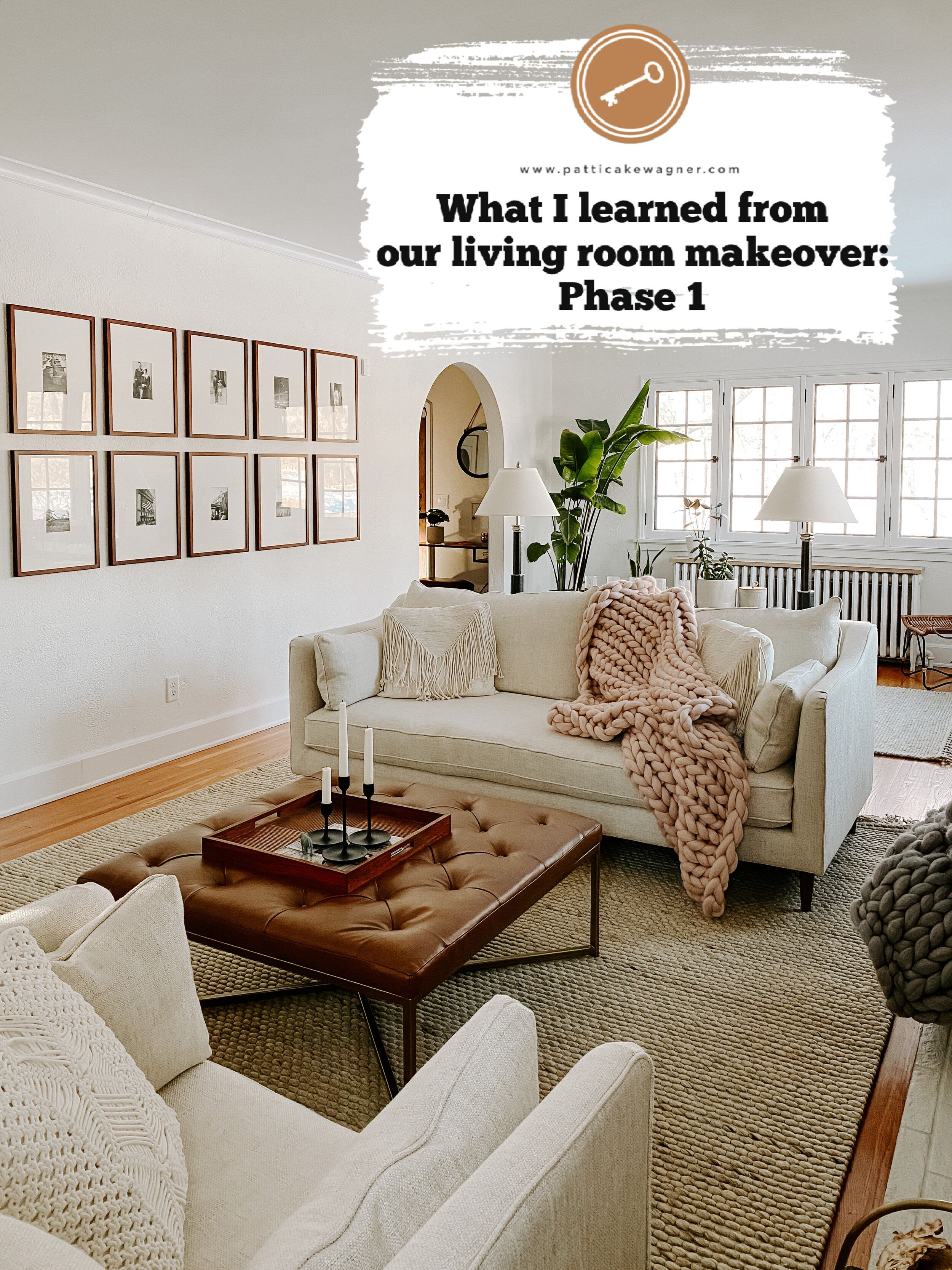 What I Learned From Our Living Room Makeover Phase 1 Patticake Wagner Narrow Living Room Long Living Room Long Living Room Layout