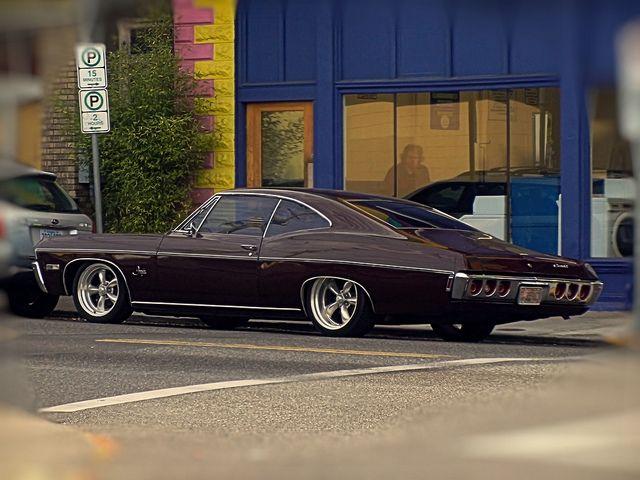 1968 Chevrolet Impala 327 Fastback Chevrolet Impala Impala 1968 Chevy Impala