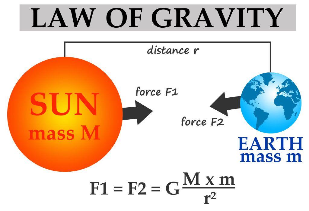 The Law Of Gravity Kidspressmagazine Com Biology Facts Physics Classroom Basic Math