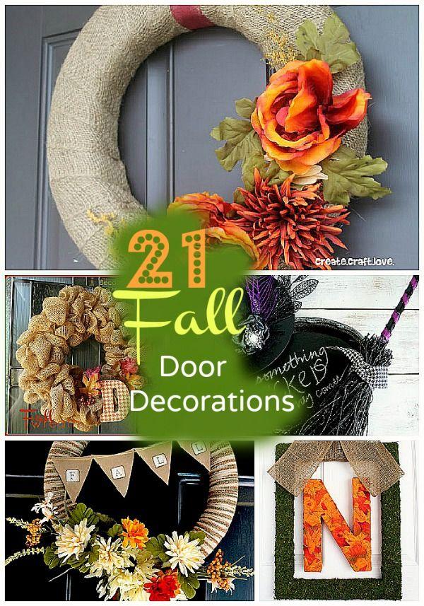 Great Ideas — 21 Fall Door Decor Projects