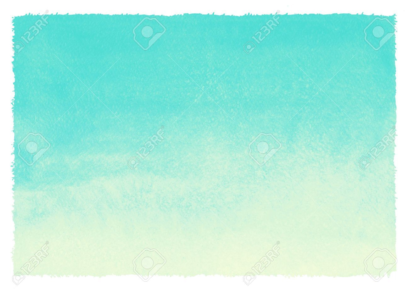 Watercolor Gradient Abstract Background With Rough Uneven Edges