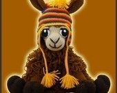Amigurumi Crochet Pattern - Coquena, The Llama