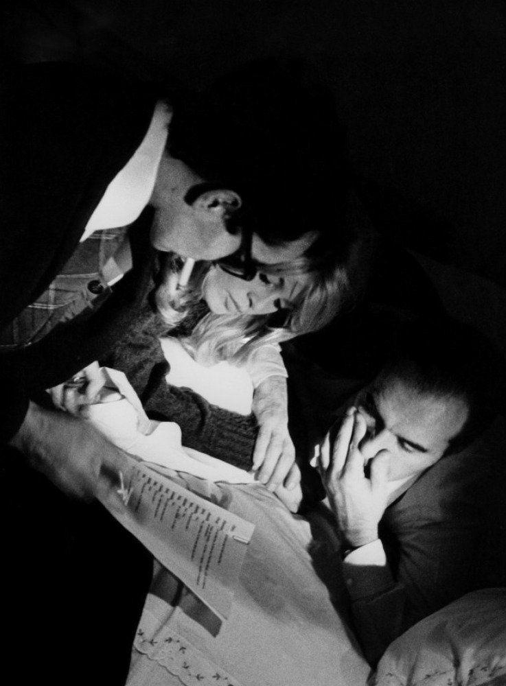 """Céleste Firmament on Twitter: """"Michel Piccoli, Brigitte Bardot, Jean-Luc Godard,  tournage """"Le Mépris."""", 1963. https://t.co/DuEW8hcpz1"""""""