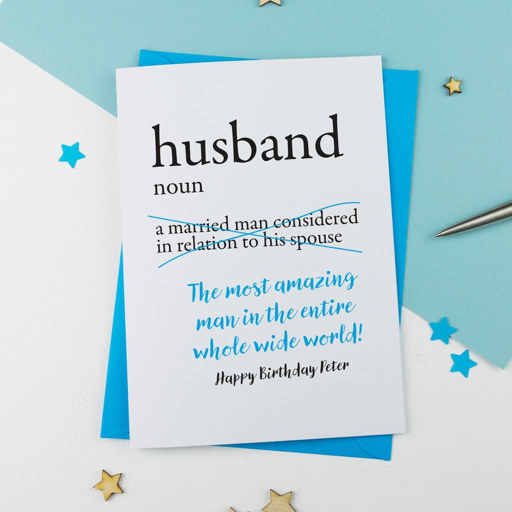 Birthday cards For Husband Images, Pictures and Wallpaper