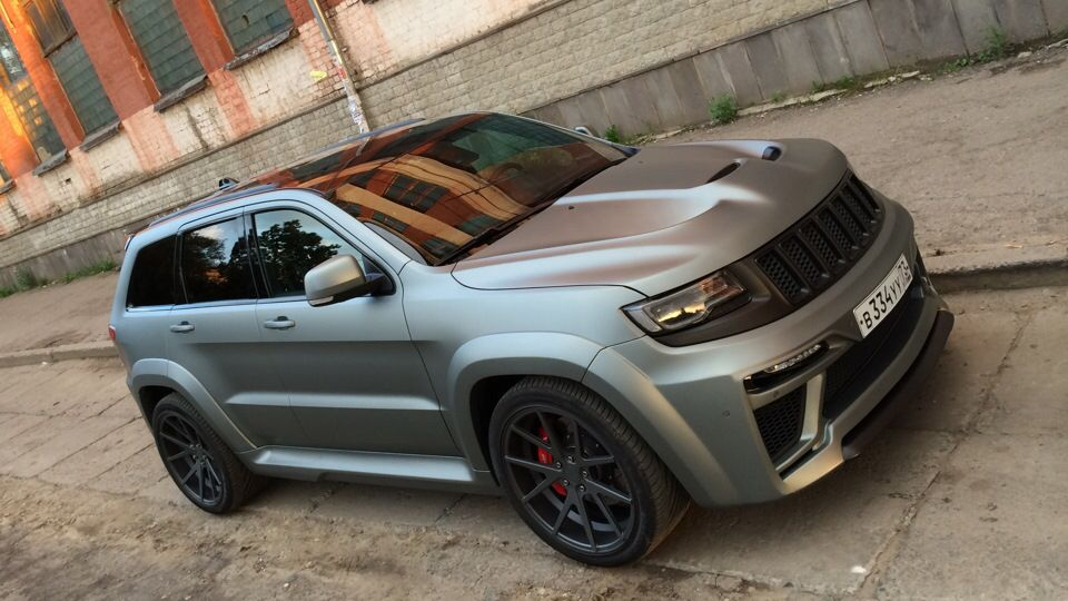 2016 Jeep Grand Cherokee Srt 8 Tyrannos Body Kit Jeep Grand