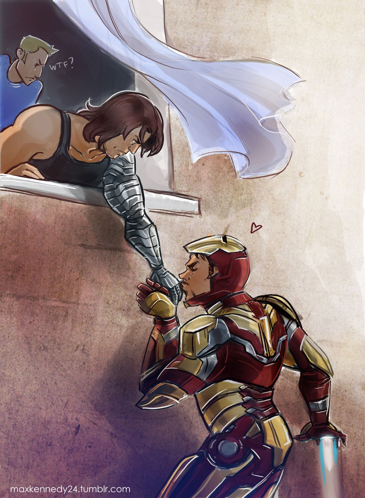 Showing Porn Images For Bucky Barnes Tony Stark Porn  Www -5199