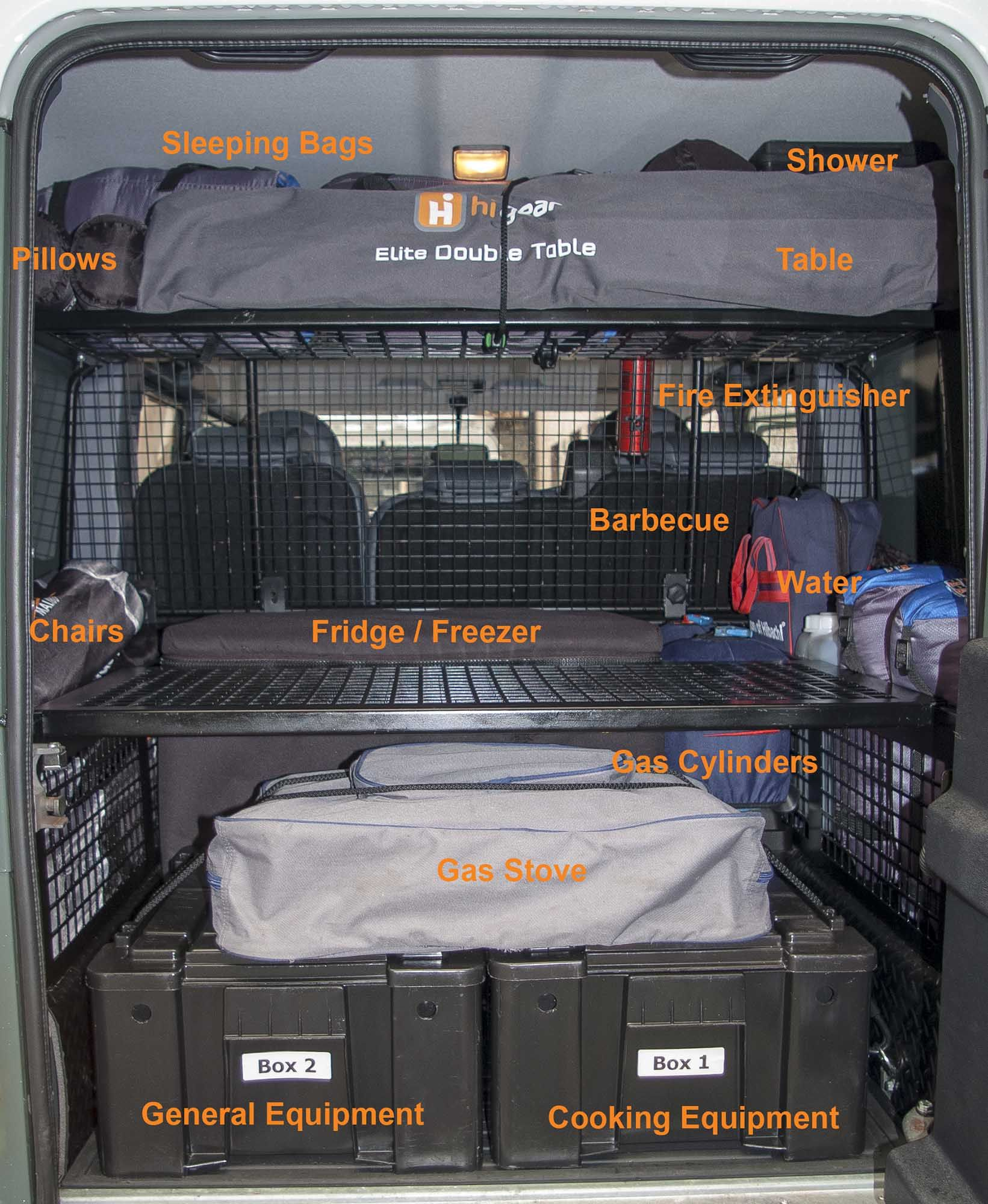 Our Fleet Comprises Only Land Rover Defenders. The