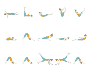 hatha yoga  yoga sequence for the abs core strength yoga