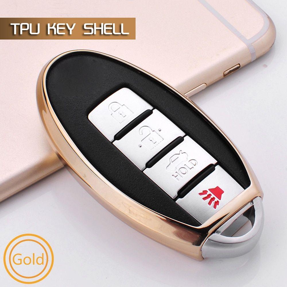 TPU soft key case fob cover For Nissan Qashqai J10 J11 X