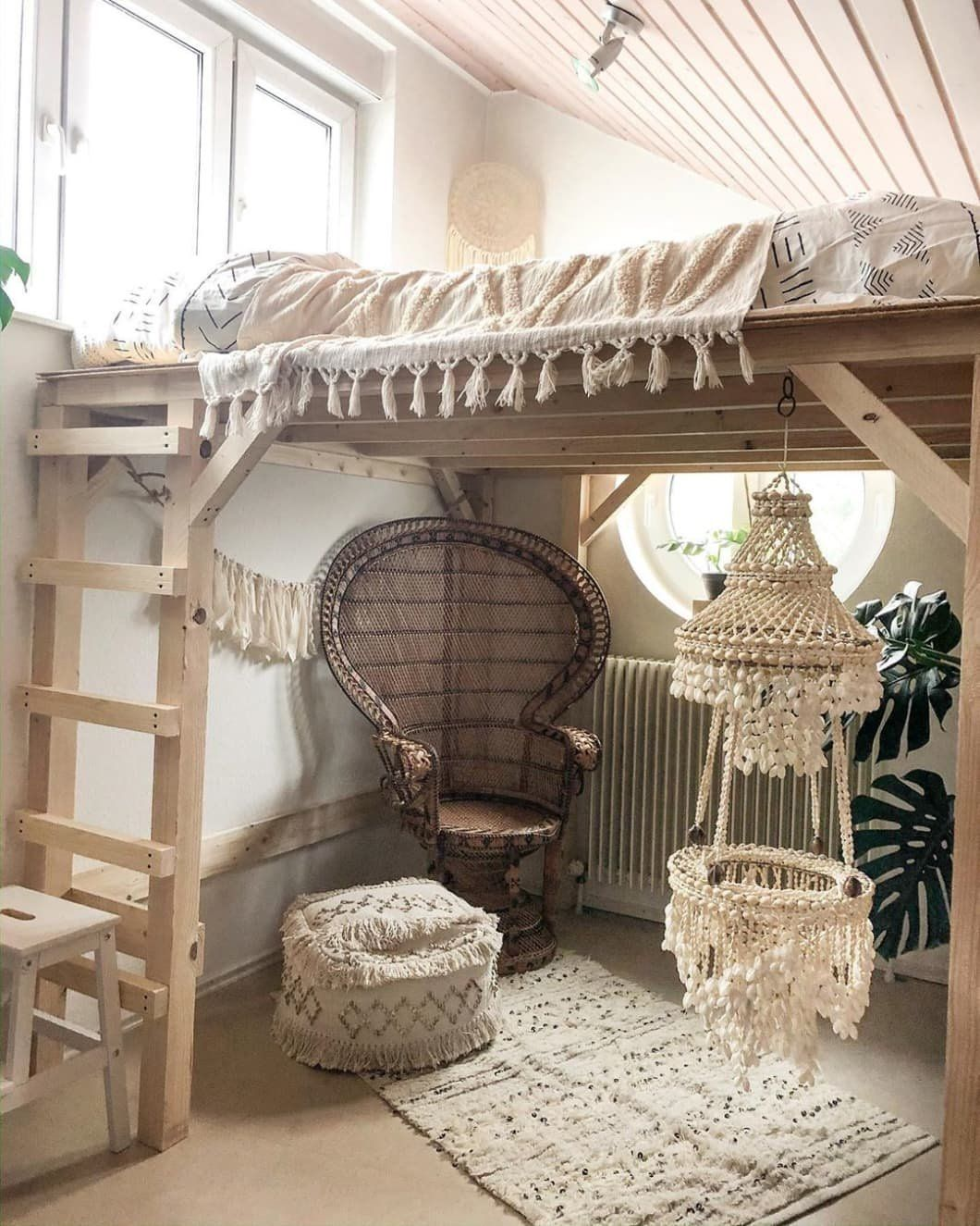 15 Stylish Diy Loft Bed Ideas Of All Sizes To Help You Max Out Your Small Space In 2020 Loft Bed Plans Diy Loft Bed Girls Loft Bed