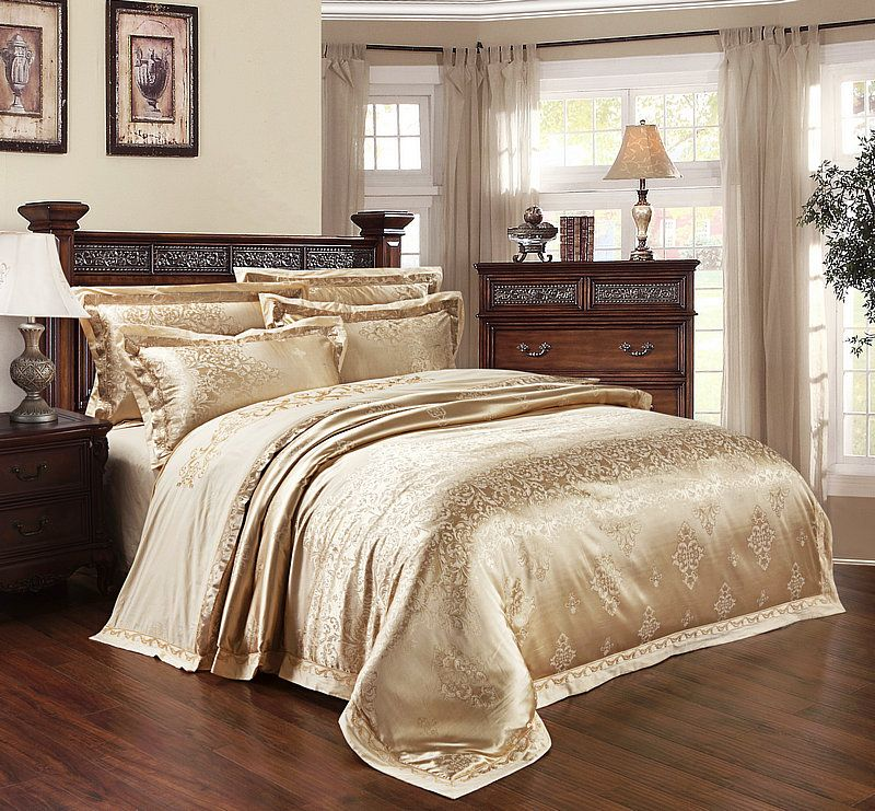 Cheap Bedspreads Duvets Buy Quality King Queen Size Directly From China Bedding Set King Suppliers Bedding Sets Queen Bedding Sets Silk Bed Sheets