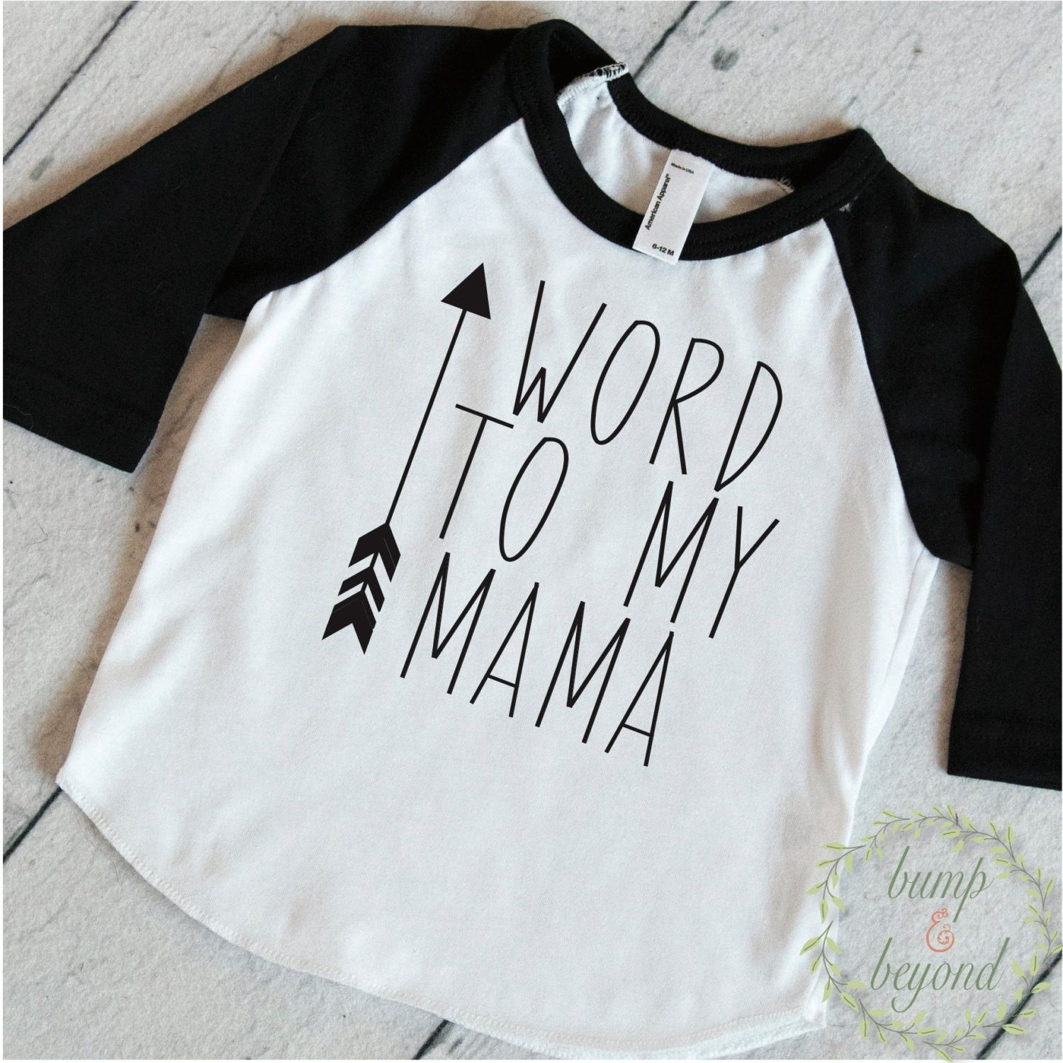 Trendy Baby Clothes Word To My Mama Cute Baby Clothes Toddler T