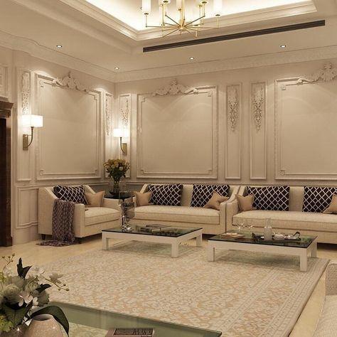 مجلس رجال كلاسيكي جديد من أعمال Shaimaa Ramadan تصميم داخلي السعودية ديكورا Living Room Design Decor Living Room Decor Modern Luxury House Interior Design
