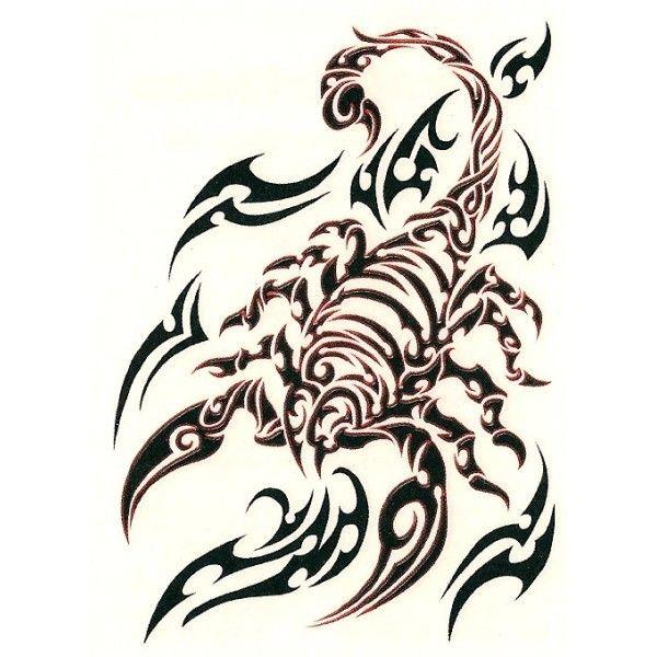 Cool Tribal Scorpion Tattoo Desi Gn Iii Pinterest Tatouage