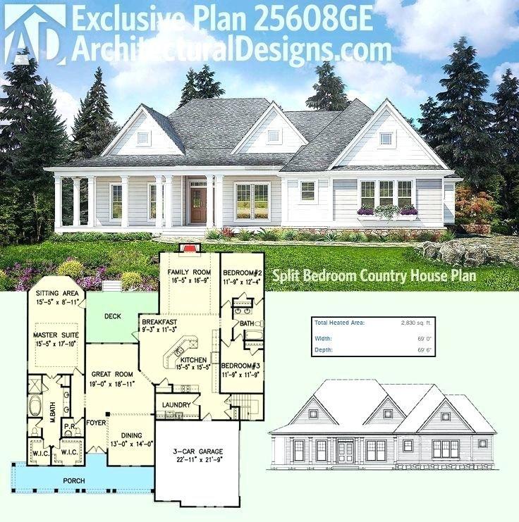 one story farmhouse modern farmhouse plans 2 story house