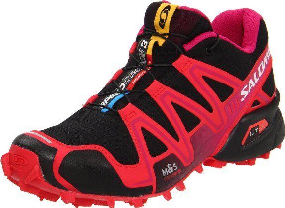 Salomon Women's Speedcross 3 Trail Running Shoe,Black/Dynamic/Fancy M US