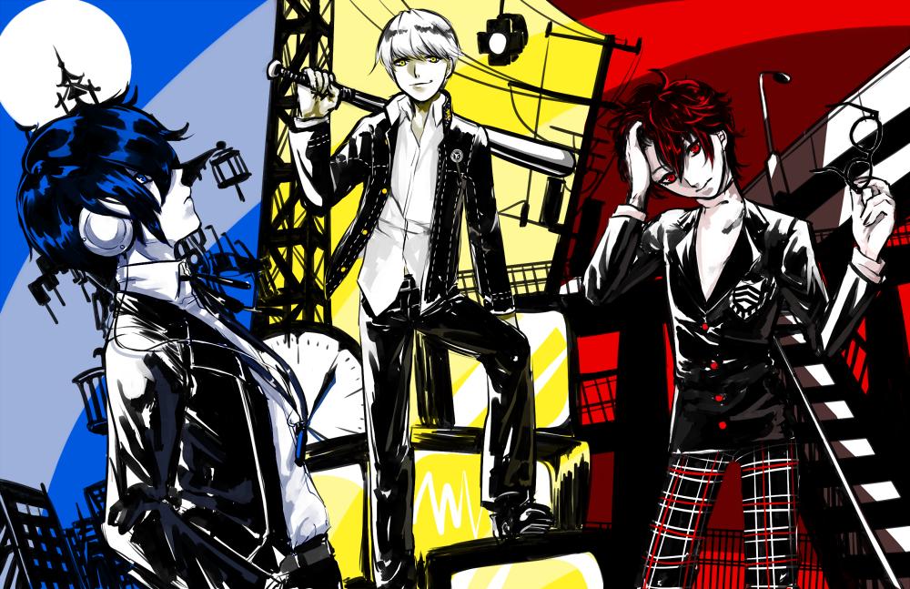 Persona 3 4 5 squad by Tofucakes Persona, Persona