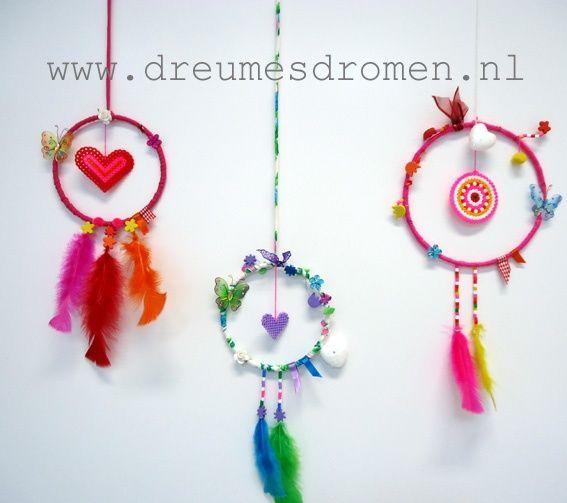 Uitgelezene Kinder workshop *Dromenvanger maken* | Dream catcher, Crafts, Diy MQ-22