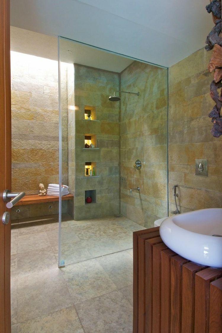 Bodengleiche Dusche Im Badezimmer Offene Designs Nasszellen Fliesen Begehbare Designsnasszellen Modern Traumhafte Badezimmer Design Fur Zuhause Dusche