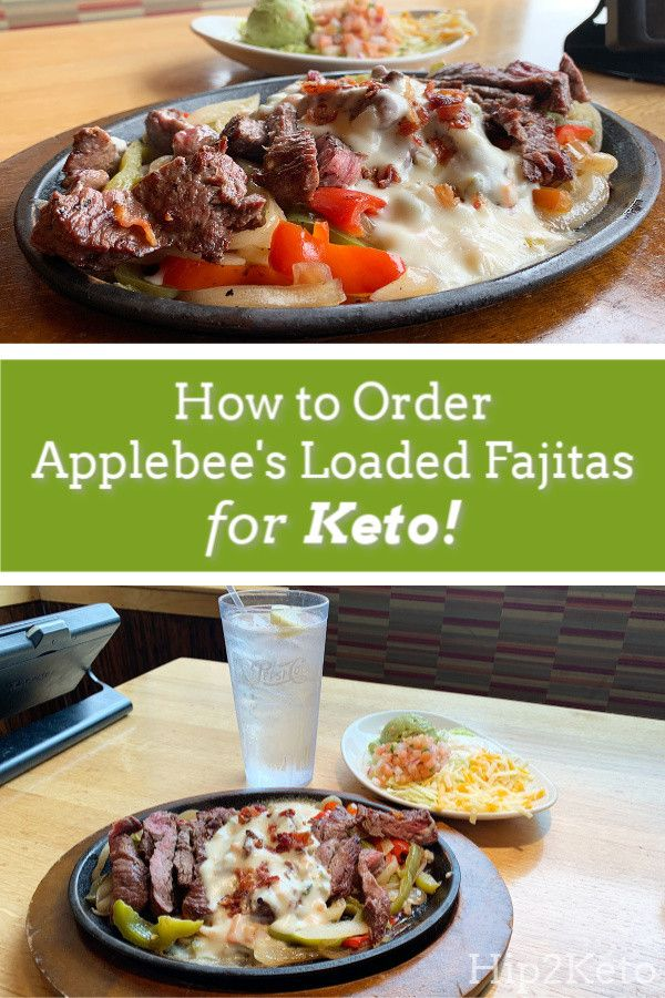 How to Order Applebee Keto fast food, Keto friendly fast