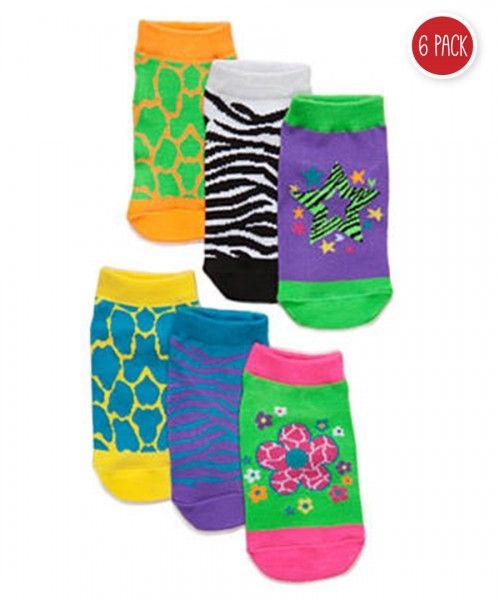 Stephen Joseph Little Girls All Over Print Socks Sockshosiery