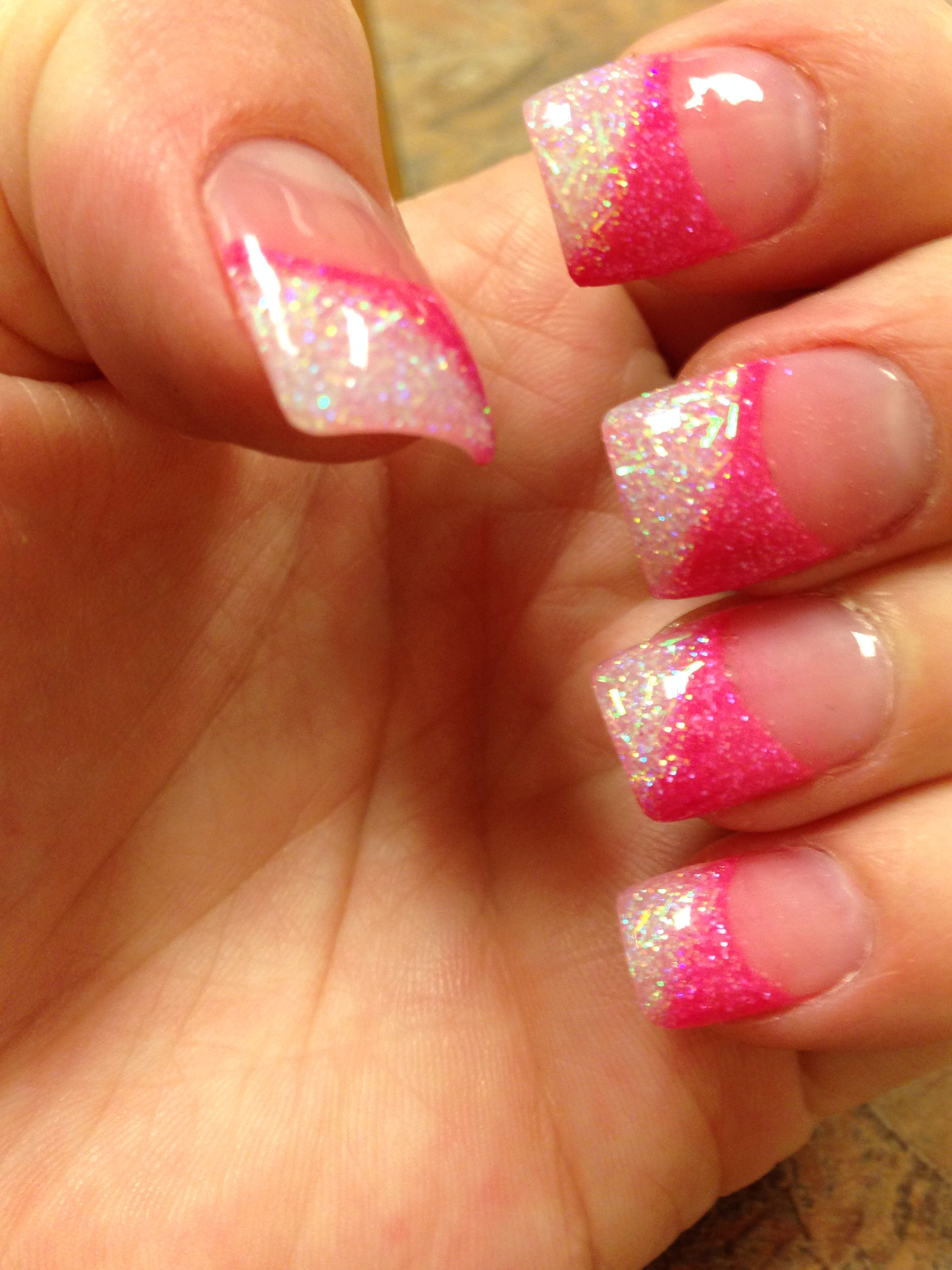 Pin By Tiffany Wold On Nails Coffin Nails Glitter Acrylic Nail Designs Glitter Nails