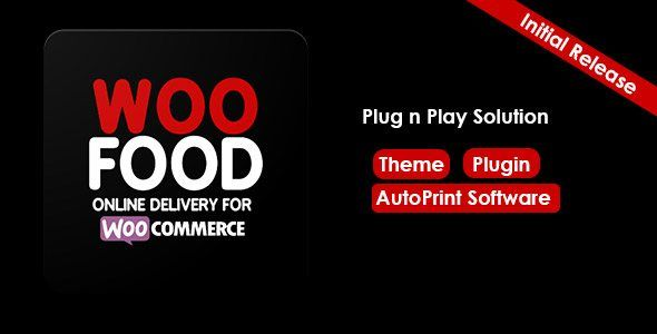 Woofood Online Delivery For Woocommerce Automatic Order Printing