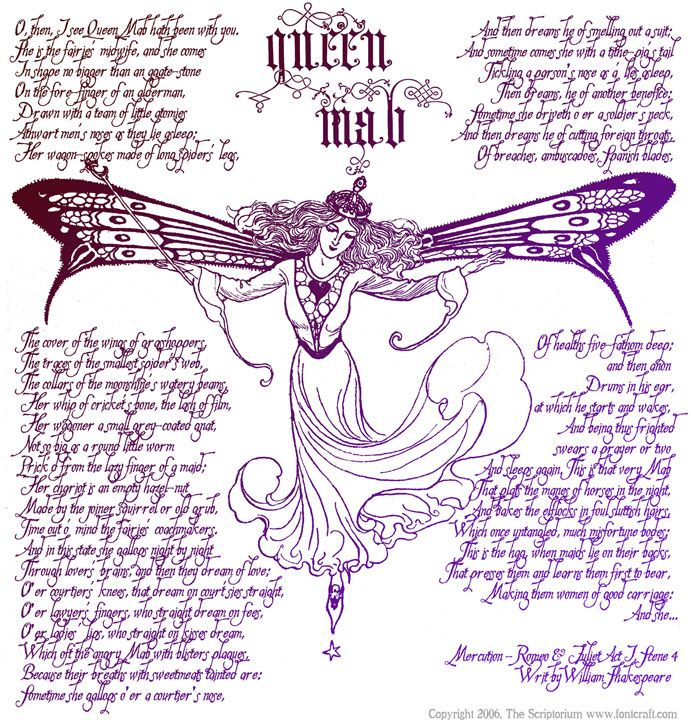 queen mab speech meaning