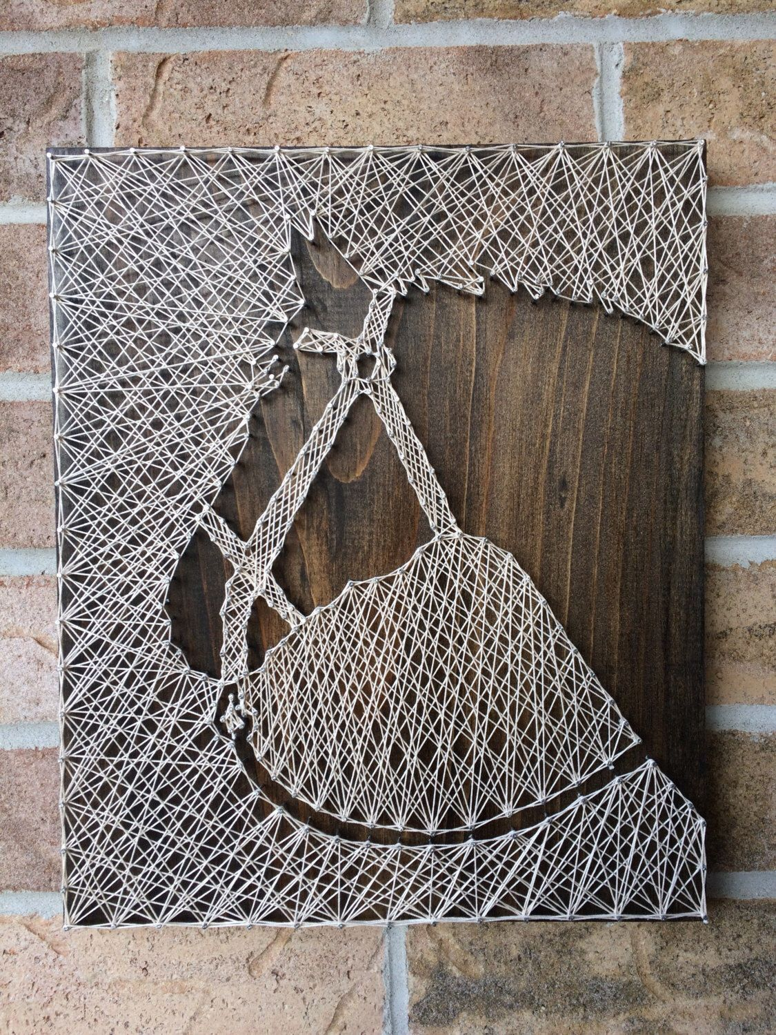 pin on naileditca string art things i 39 ve made. Black Bedroom Furniture Sets. Home Design Ideas