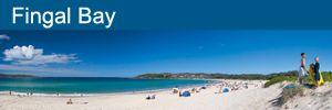 Fingal Bay Beach