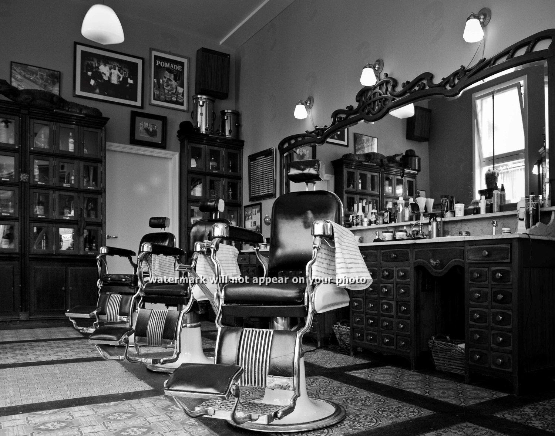 Vintage Barbershop Retro Barber Mo...