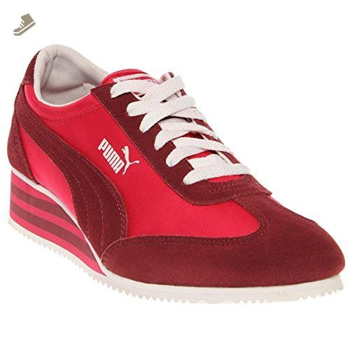 Puma 2.9 Lo Elegant Quilted Womens Schuhe Sneaker / Schuh   Rot