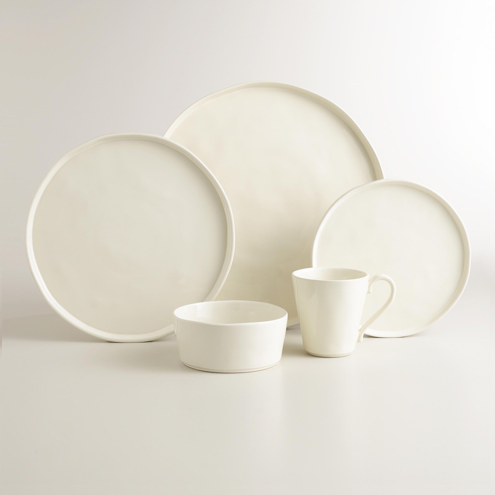 Ivory Organic Dinnerware & Ivory Organic Dinnerware | s p a c e s | Pinterest | Dinnerware ...