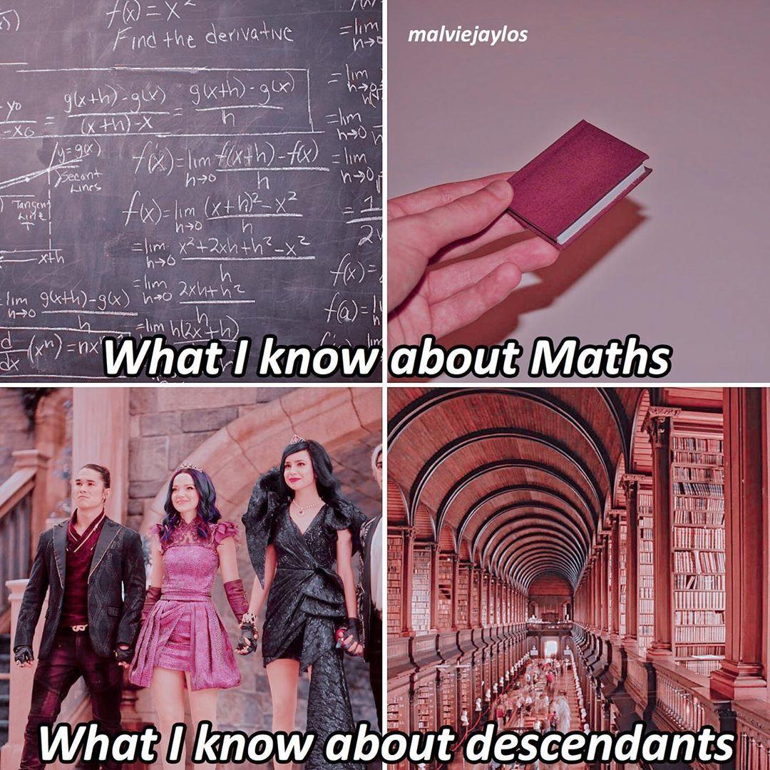 4,689 Μου αρέσει!, 28 σχόλια - « descender » (@malviejaylos) στο Instagram: ❝ descendants x meme ❞ — [] �: can u relate? [�] �: <3 — ��: @ariasvogue ��: @polarrhs ��:…