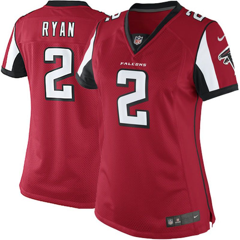 first rate 73bc2 ed3a9 Matt Ryan Atlanta Falcons Nike Women's Limited Jersey - Red ...