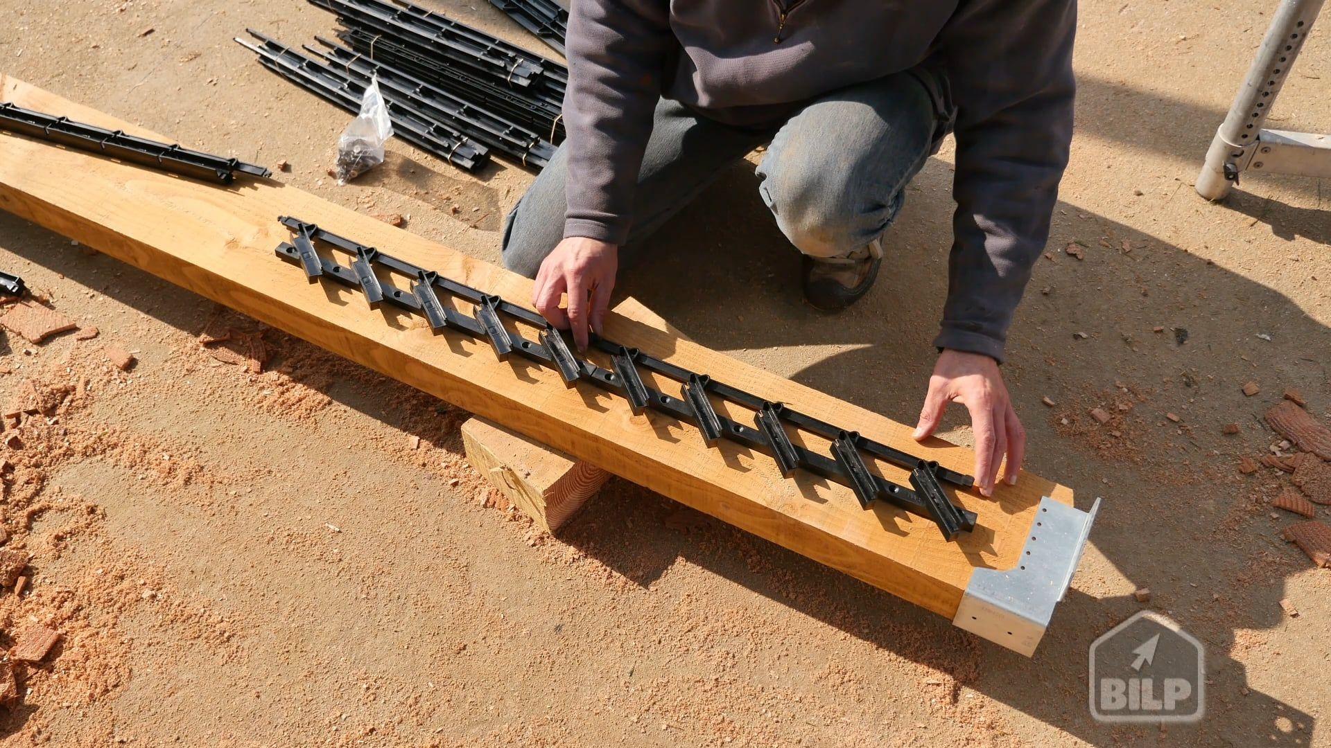07 Montage Des Kits A Lames Orientables Pergola Wooden Window Blinds Fence Design