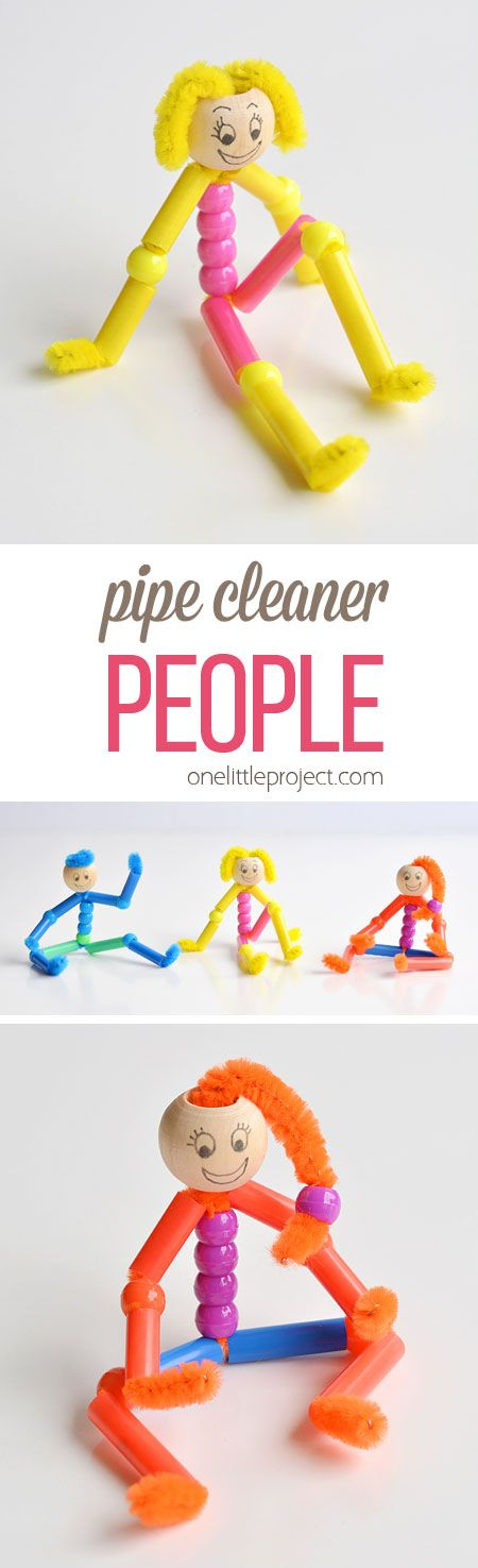 Beaded Pipe Cleaner People
