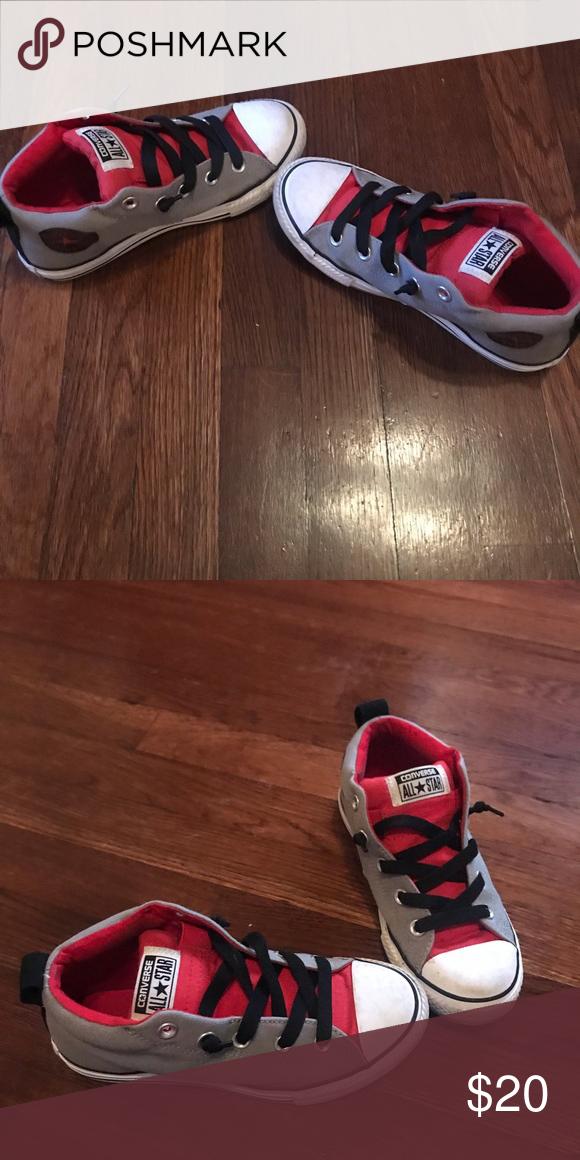 Boys Converse Size 3 Like New Boys Converse Converse Shoes Sneakers a0e731a07