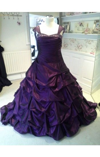 Dark Purple Plus Size Wedding Dress We Make Lots Of Our Wedding
