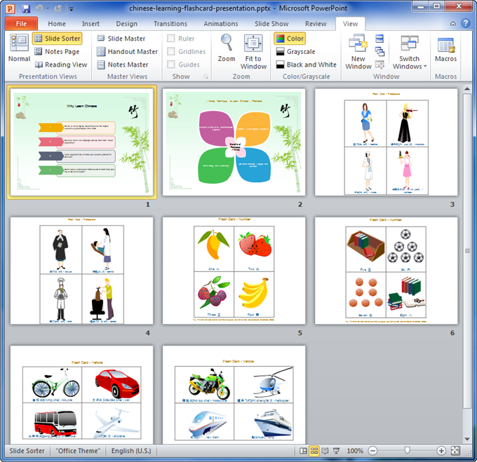 powerpoint presentation examples for students