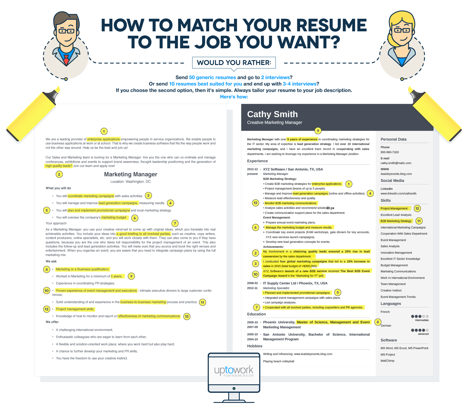 How To Tailor Your Resume To The Job Description  How To Write A